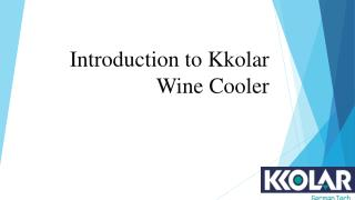 Best Wine Cooler india-Kkolar Appliances Pvt. Ltd