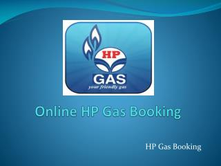 Online HP Gas Booking