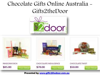 Chocolate Gifts Delivery Online Australia - Gifts2theDoor
