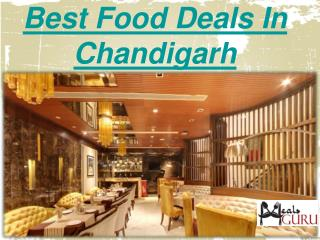 Best Restaurant Buffet Discount Deals in Chandigarh-MealsGuru