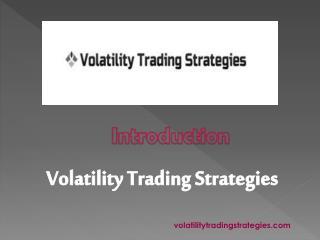 Professional Traders - Volatilitytradingstrategies.com