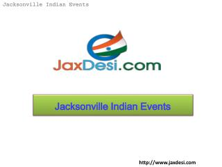 Jacksonville Indian Events