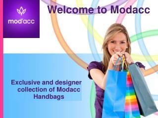 Exclusive Modacc Handbags for Women | ModaccOnline.com