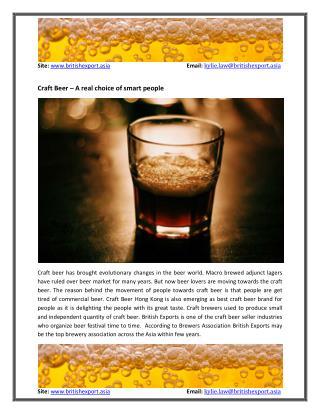 Craft Beer Hong Kong