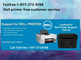 Tollfree-1-877-373-9158 Dell printer technical support