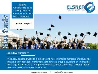 CaseStudy – METU From Elsner