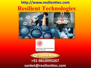 Resilient Technologies