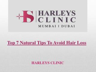 Top 7 Natural Tips To Avoid Hair Loss