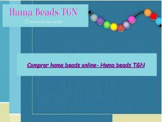 Comprar hama beads online- Hama beads TGN