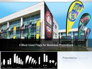 4 Most Used Flags for Business Promotions
