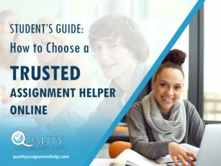 Guide to Choose the Right Academic Writing Help Online