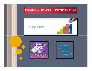 Study Guide for 1Z0-051 Oracle Database