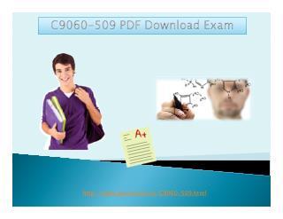 C9060-509 PDF Download Exam