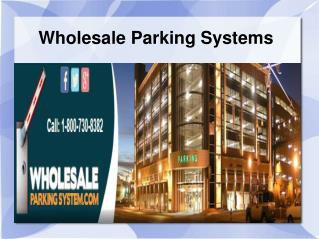 Parking supplies by Wholesale Parking System