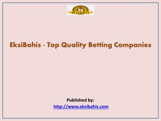 Top Quality Betting Companies