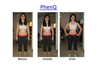 The PhenQ Natural Weight Loss Formula