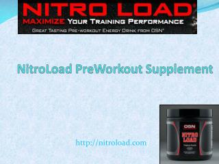 What is the best formula to prepare preworkout supplement