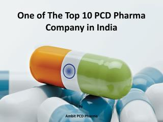 Leading PCD Pharma Company in India - Ambit PCD Pharma