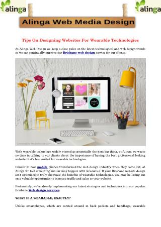Tips On Designing Websites For Wearable Technologies