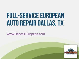 Hance's European Car Service