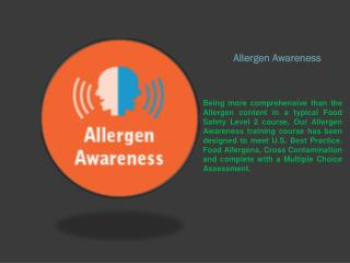 Food Allergy Awareness Course