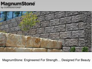 Segmental Retaining Wall Systems