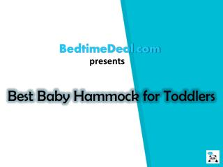 Best Baby Hammock for Toddlers