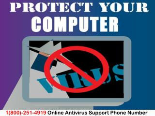 1(800)-251-4919 How to Protect Your Computer from Virus Outbreak?