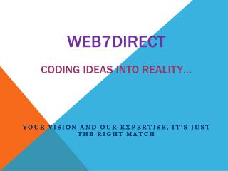 Affordable web development company in London
