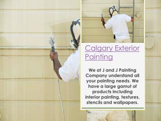 exterior painters calgary