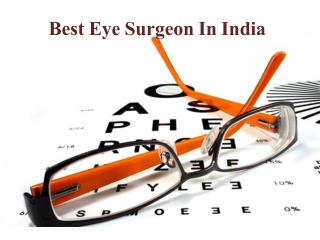Eye Surgeon In India