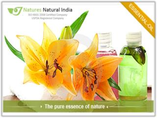 Explore a Premium Array with various types of Pure Essential Oils at Naturesnatuiralindia.com!