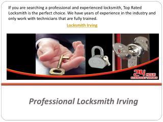 Professional Locksmith Irving