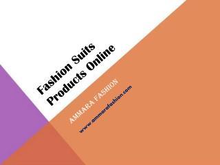 Fashion Suits Products Online - Designer Suits Product - Ammara Fashion