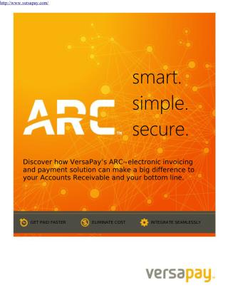 Versaypay ARC electronic payment solution