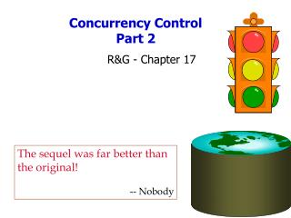 Concurrency Control  Part 2