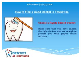How to Find a Best Dentist in Townsville
