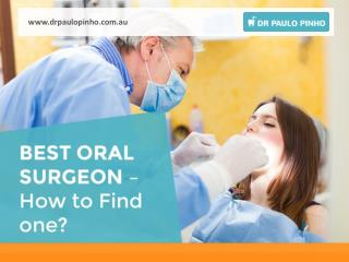How to Find the Best oral Surgeon