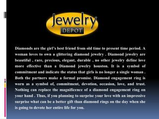 Diamond jewelry Houston The Best Way to Express Your Feelings
