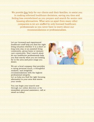 Assisted Living Scottsdale