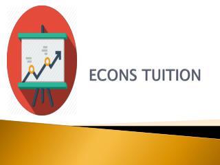 Singapore Economics Tuition