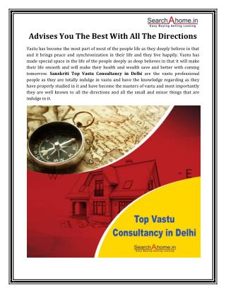 Sanskriti Top Vastu Consultancy in Delhi