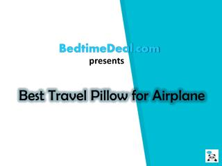 Best Travel Pillow for Airplane
