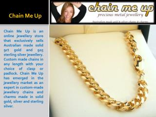 Gold Chains For Men & Women