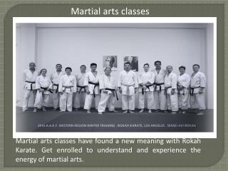 Karate classes for kids in Los Angeles
