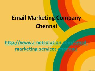 Email Database Chennai