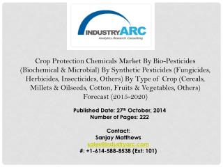 Crop Protection Chemicals Market fostered by high adoption rates of plant hormones for ensuring plant growth quality.
