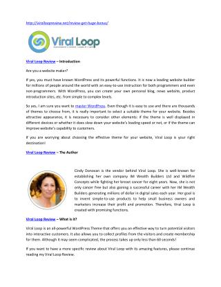 Viral Loop Review – a must-have tool for website developers