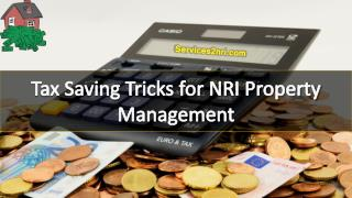 Tax Saving Tricks for NRI Property Management